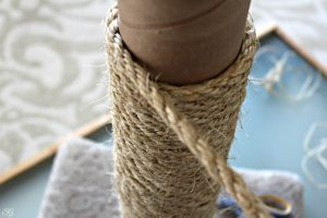 cat sisal rope on a cat scratcher