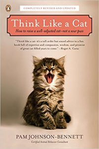 picture of think like a cat book