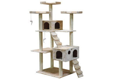 Go Pet Club F2040 made our best cat trees review top 10 list