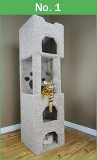 No. 1 New Cat Condos 6 ft tower
