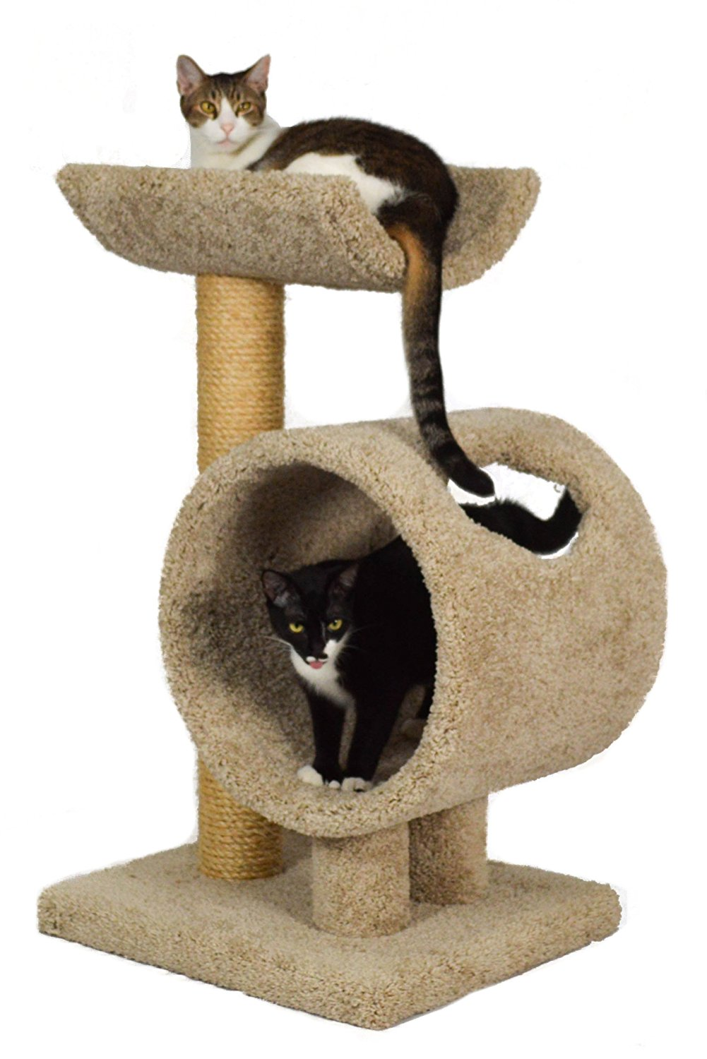 Premium Carpeted Cat Tree For Large Cats Carpet Vidalondon