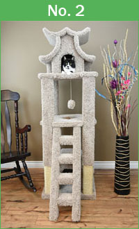 "No. 2 New Cat Condos 67"" Pagoda"
