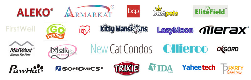 manufactures we reviewed for our best premium cat trees review
