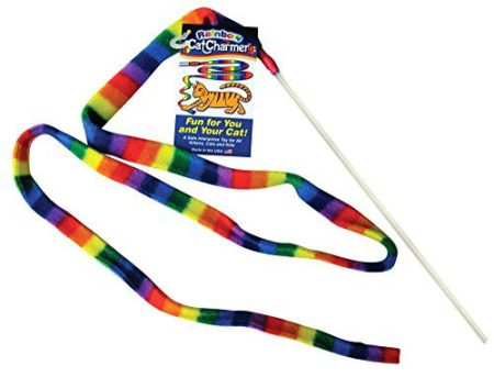rainbow cat charmer by cat dancer products