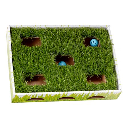 cat ball toys box by petstages