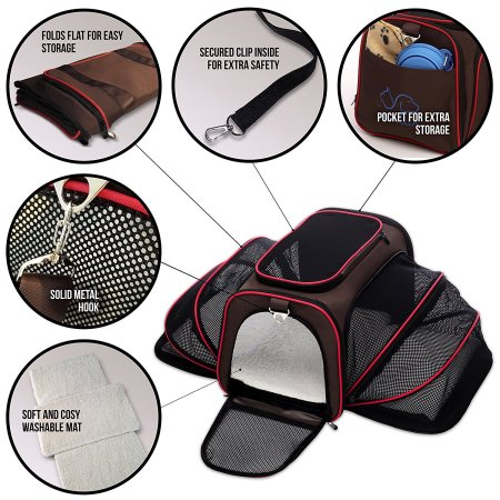 Petyella Pet Carrier Features