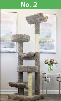 #2 Prestige 130098 cat tree quick access button